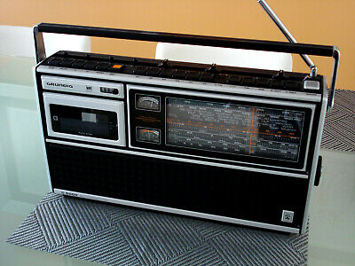 Grundig C 8000 Radio/cassette Made In Germany, Very unique. Exc.visual condition