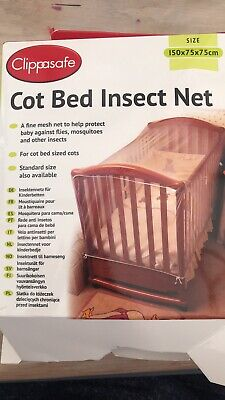 Cot Bed Insect Net 150x75cm BNIB