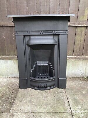 Victorian / Edwardian Cast Iron Bedroom Fireplace Free Delivery