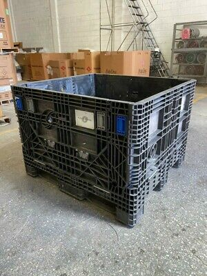 45 x 48 x 34in  44.5x48x34in Collapsible Bulk Container