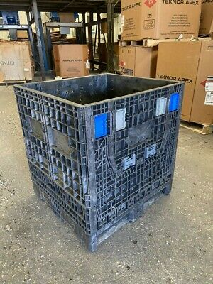 32x30x34 collapsible Bulk Container used