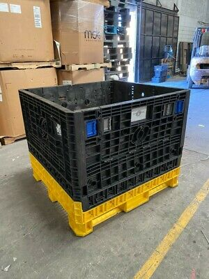 Collapsible bulk Containers 48x45x39 in. used