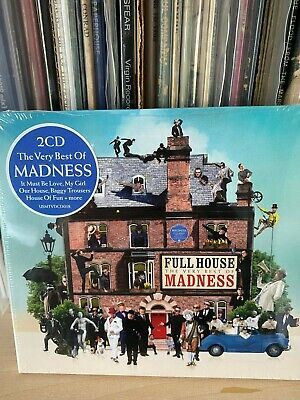 Madness 2 x CD Digipak Edition 2017 Full House Very Best Of 42 Trax  *NEW/SEALED