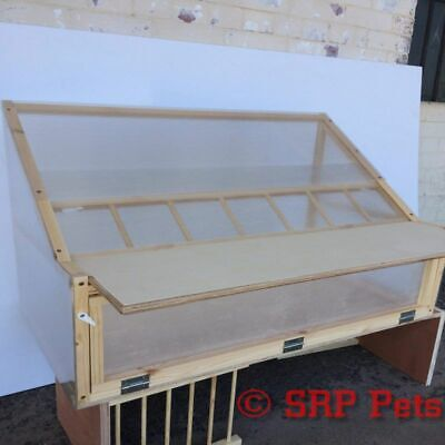 """SRP PETS® Sputnik For Racing Loft x4 With Quality Timber and Polycarbonate 48"""""""