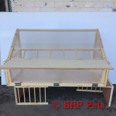 """SRP PETS® Sputnik For Racing Loft x4 Quality Timber and Polycarbonate 39 3/4"""""""