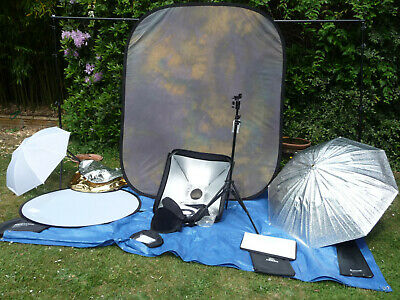Camera Photography Studio Lighting and Bakground Kit  - Lastolite & Courtenay