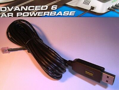USB cable for Scalextric C7042 6 car digital powerbase