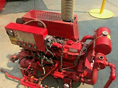 Clarke Fire Fight Water Pump Diesel Powered