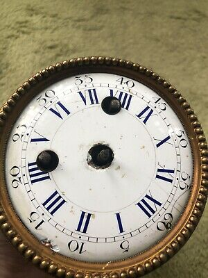 Vintage Clock Mechanism - JAPY FRERES - Antique French Clock's Movement - DEPOSE