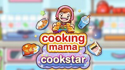 Cooking Mama Cookstar Nintendo Switch 2020 US English Factory Sealed