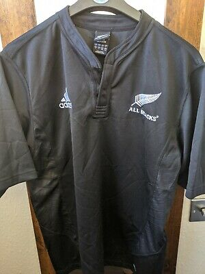 """New Zealand Rugby Union Shirt - 07-09 - Never Worn - """"LEE"""" on Back - Large"""
