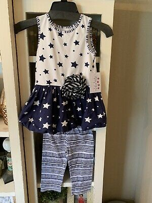 Nwt Pippa & Julie Girls Outfit Size 6X