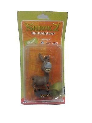 "Dreamworks Shrek 2 Mini Bobblehead Collectable - ""Donkey"""