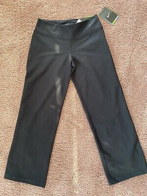 Nike legend regular fit Black Leggings running trousers Age 9-10