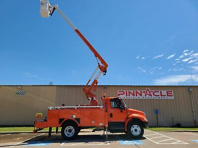 2010 Durastar 4300 Eti Etc37Ih Bucket Truck International Powered Diesel Auto