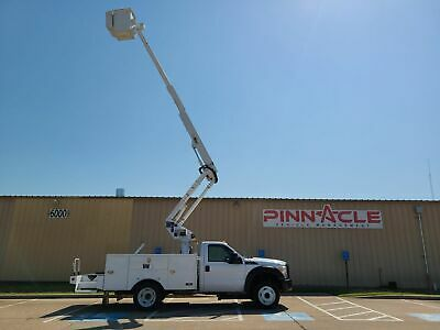 2013 Xl F550 Altec 42' Telescoping Bucket Truck! 6.7 Diesel Altec  At37G