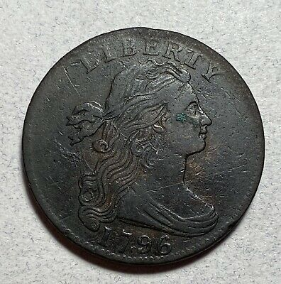 1796 Draped  Bust Large 1c Cent Reverse of 1795
