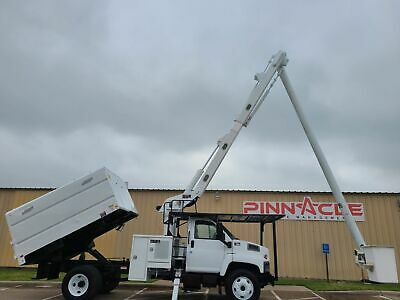 2008 Altec Lrv56 61' Forestry Bucket Truck W/ Dump Bed!