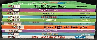 Lot of 10 Dr Seuss Bright and Early/Beginner Books Children's Hardcover FS! (C)