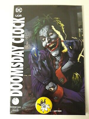 Doomsday Clock N. 5 Variant + Spilla - Dc Lion - Imbustato - Come Nuovo