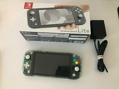 Nintendo Switch Lite Clear Shell and Screen protector