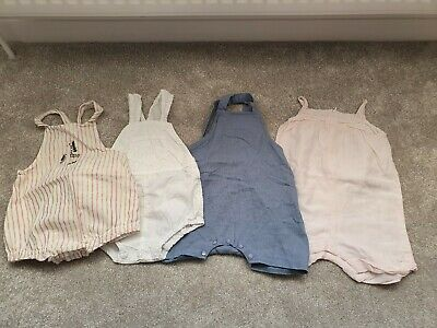 Baby Girls Romper Bundle X4 Size 9-18 Months Chloé M&S Beaux Baby Boutique