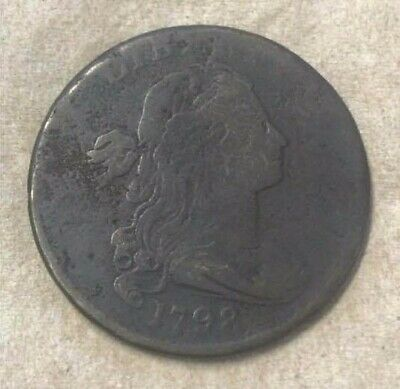 1798 Large Cent with Flowing Hair
