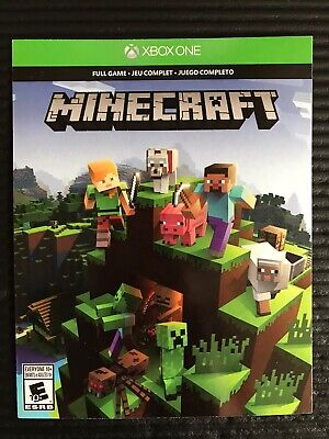 NEW Minecraft Xbox One Full Game Digital Download Key Code Card