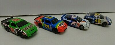 HO scale stock car lot of 4