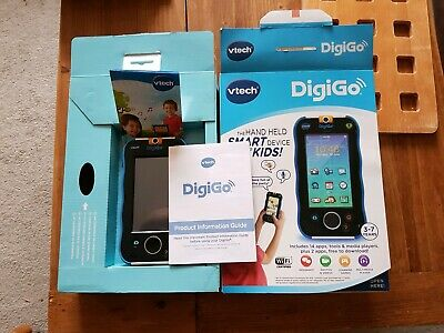 VTech Digigo, hardly used in original box with instructions