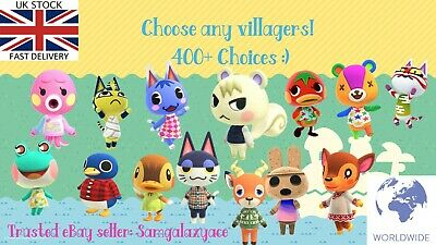 🍃 Animal Crossing Custom Amiibo NFC Card, Pick your villager! 400+ Villagers