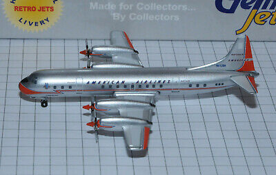 GEMINI JETS 1/400 AMERICAN AIRLINES L-188 Electra N6128A