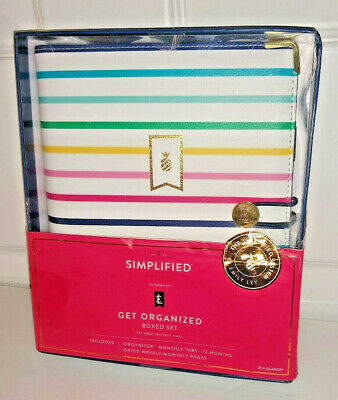 Emily Ley Simplified System Weekly-Monthly Organizer 2020 Desk Size Planner