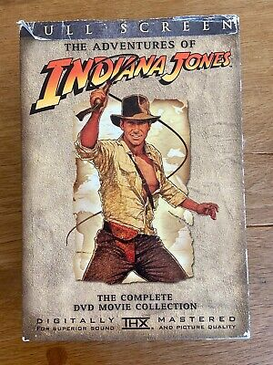 Indiana Jones The Complete Adventures Collection  Box Set 4 DVD's Full Screen