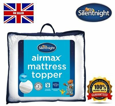 NEW Airmax Mattress Topper 3cm Deep COMFORTABLE Single Double King or Super K