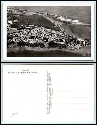 MOROCCO RPPC Photo Postcard - Rabat, La Pointe des Oudaias AZ3