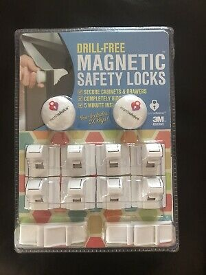 child safety cabinet locks magnetic