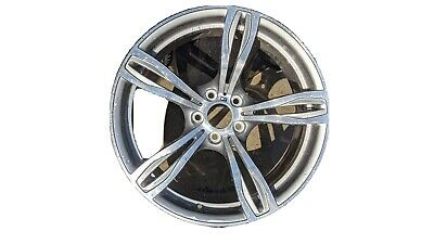 "BMW F10 M5 OEM Genuine Style 343 20"" M5 M Double Spoke Forged Wheel Silver"