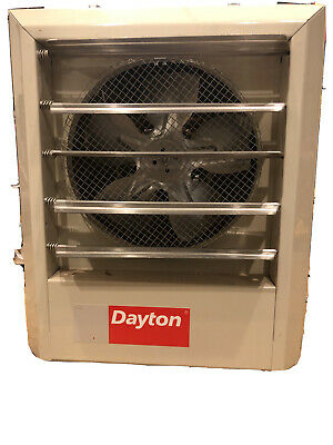 DAYTON 2YU61 Electric Unit Heater, 208VAC, 1 Phase, 3.0 kW, 10,200 BtuH