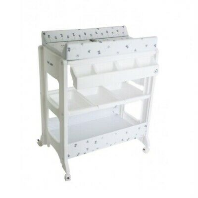 NEW Love N Care Omega Bath And Change Table - Little Farm | Baby Online Direct