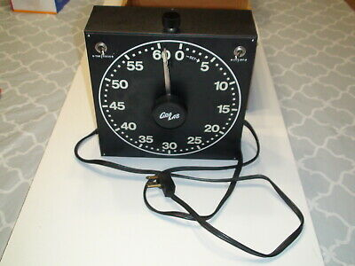 GraLab Electric Darkroom Timer Model 400 - Vintage - Automatic Reset - Tested