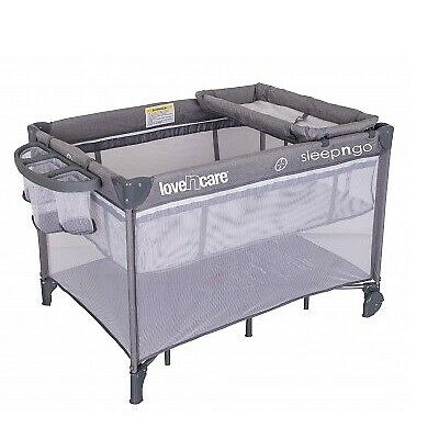 NEW Love N Care 3-In-1 Sleep N Go Travel Cot | Baby Online Direct