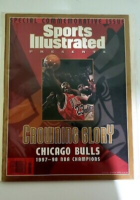 Special Commerative SI Issue 6/17/98 Crowning Glory Bulls NBA Champions