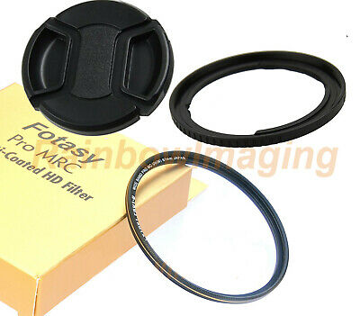 SX30 IS SX40 HS Digital Cameras SX10 IS SX1 IS SX20 IS Includes FA-DC67A Replacement Ring Adapter 67mm Multi-Coated UV Protective Filter for Canon SX70 HS