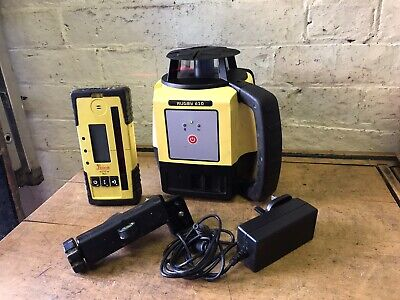 Leica Rugby 610 Self Levelling Rotating Laser Set Kit