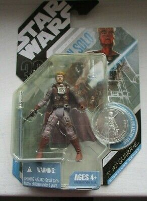 Star Wars figure by  R McQuarrie Han Solo sealed in packet