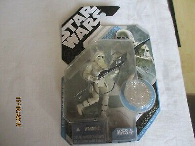 Star Wars figures  R McQuarrie Concept  snowtrooper  sealed in packet