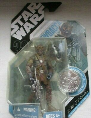 Star Wars figure by  R McQuarrie Chewbacca sealed in packet
