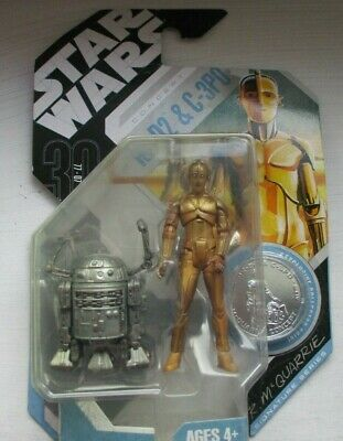 Star Wars figures  R McQuarrie Concept  R2-D2 & C-3PO  sealed in packet