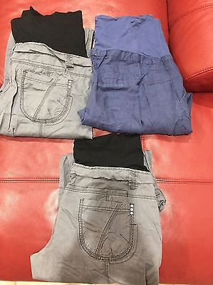3 Pairs Of Maternity Pregnancy Pants